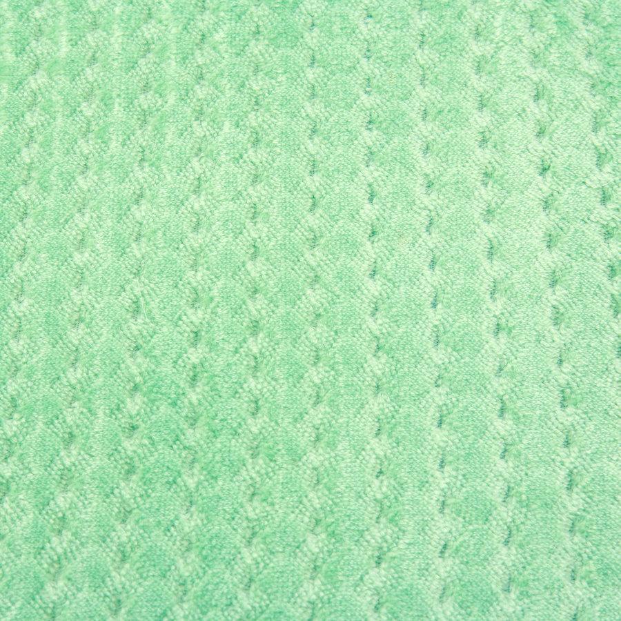 Zelená koupelnová pěnová předložka 01 - délka 81 cm a šířka 51 cm