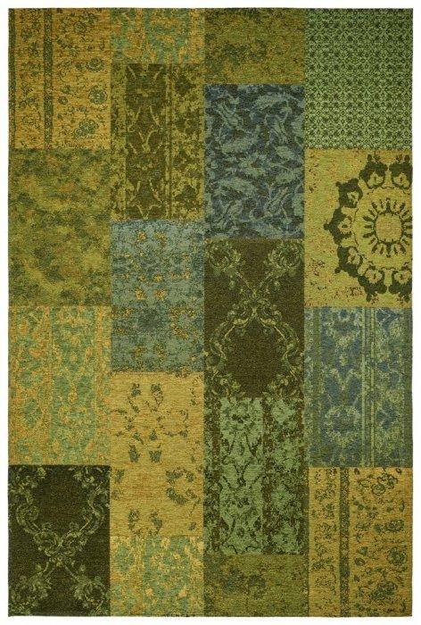 Zelený kusový moderní koberec Milano - délka 150 cm a šířka 77 cm