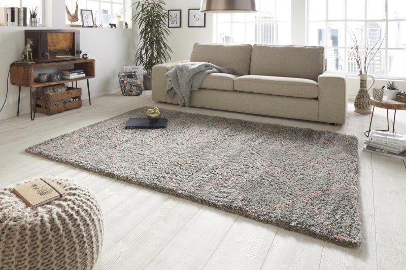Šedý kusový moderní koberec Allure