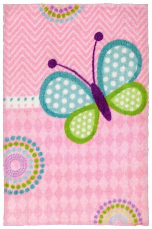 Různobarevný dětský kusový koberec Lollipop