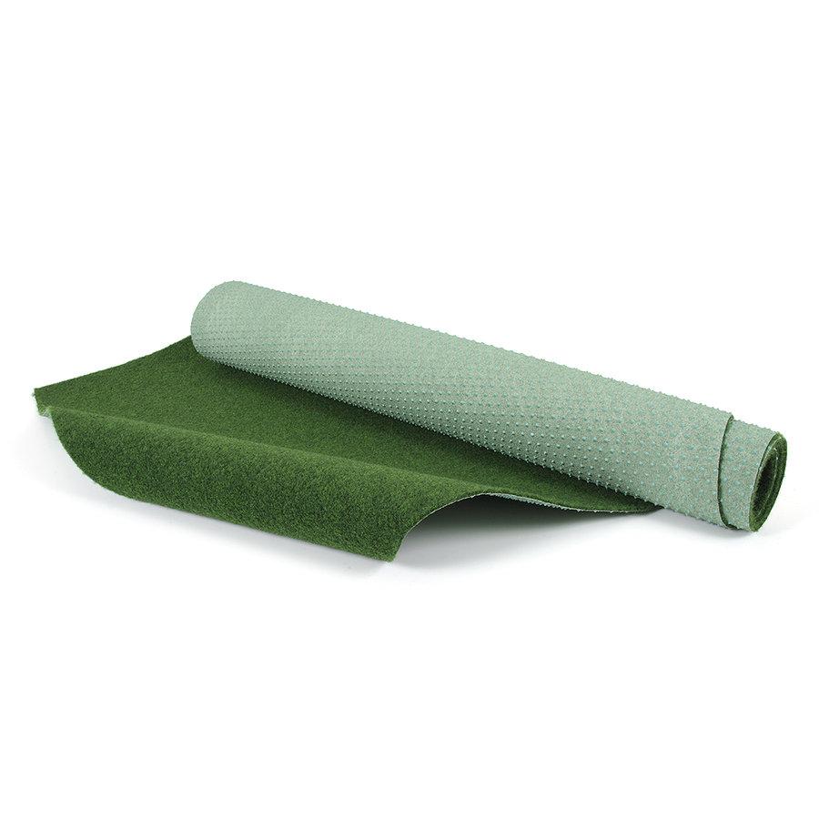 Zelený travní metrážový koberec Greeny - délka 1 cm, šířka 200 cm a výška 0,6 cm
