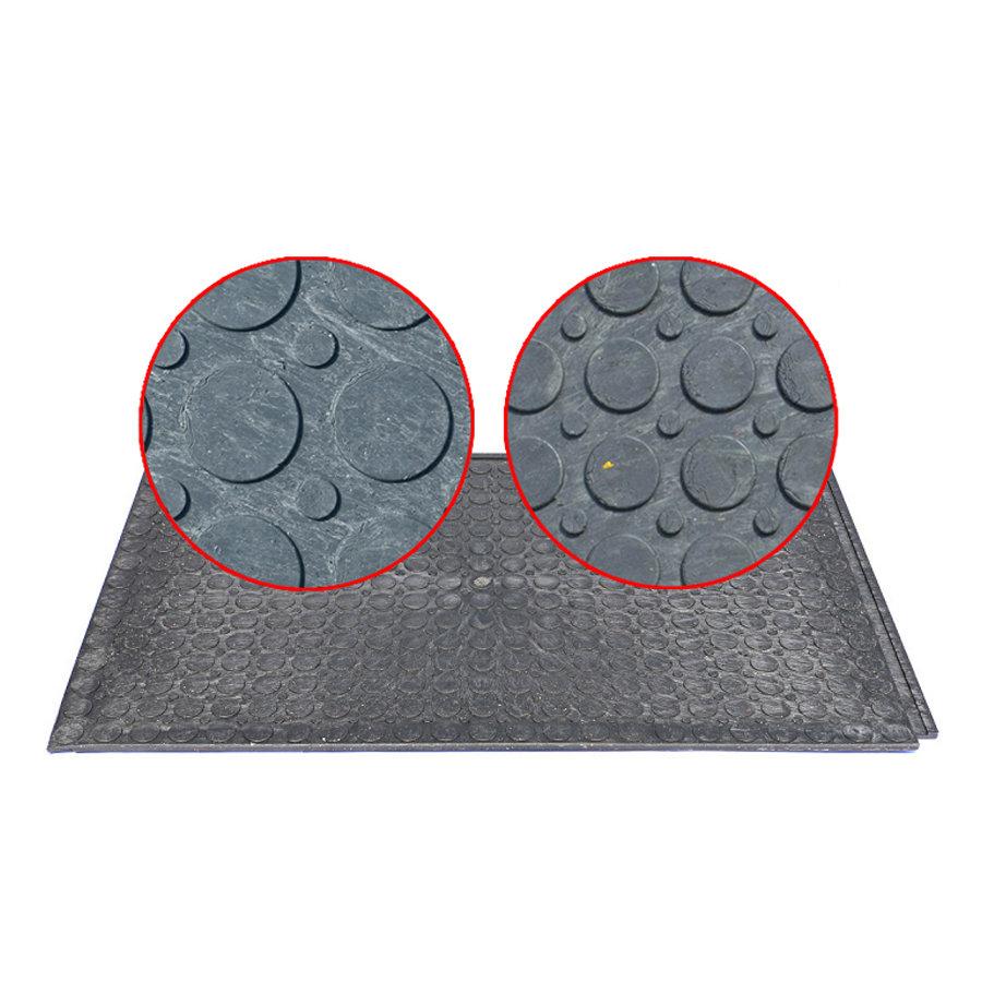 Plastová univerzální oboustranná zátěžová podlahová deska - délka 120 cm, šířka 80 cm a výška 2,2 cm