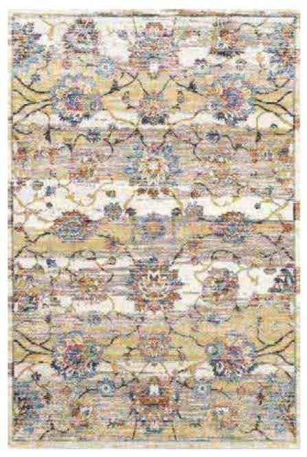 Různobarevný kusový moderní koberec King Vo Da Vinci - délka 150 cm a šířka 80 cm