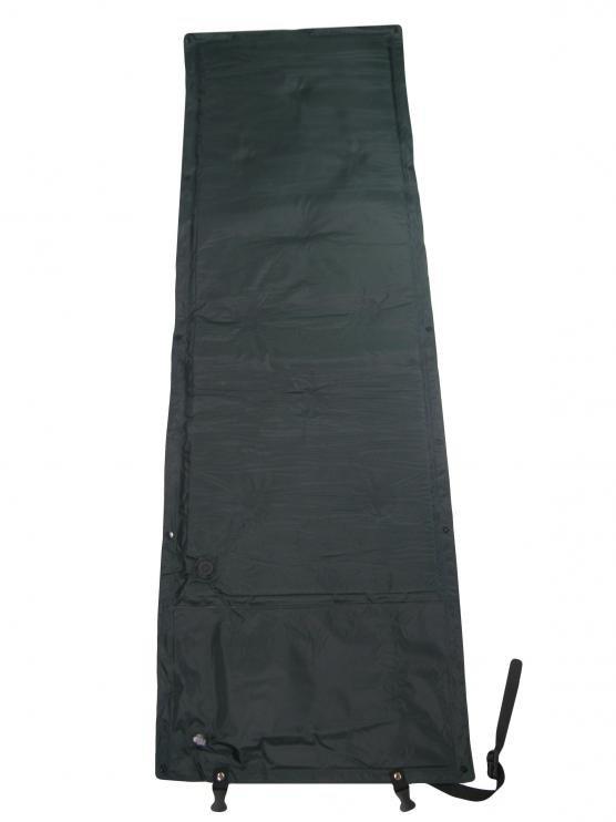 Zelená samonafukovací karimatka - délka 165 cm, šířka 55 cm a výška 1,5 cm