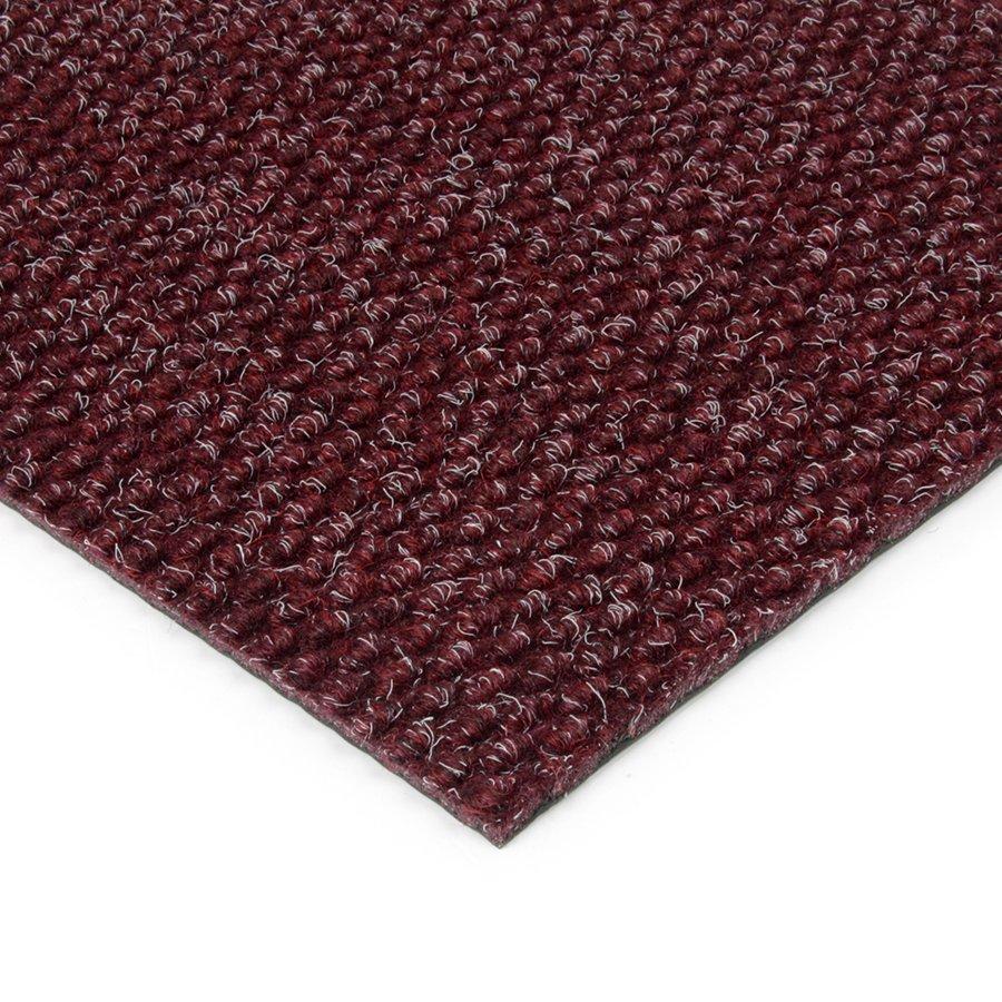 Červená kobercová zátěžová vnitřní vstupní rohož FLOMA Fiona - výška 1,1 cm