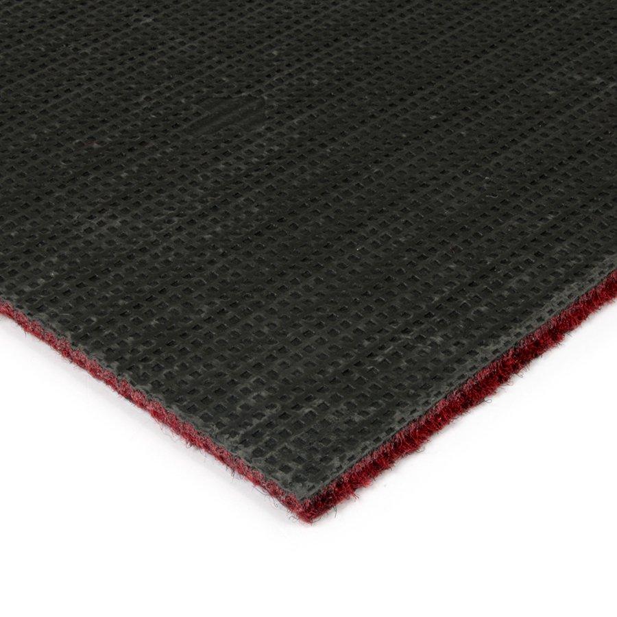 Červená kobercová čistící zóna FLOMA Catrine - délka 150 cm a výška 1,35 cm