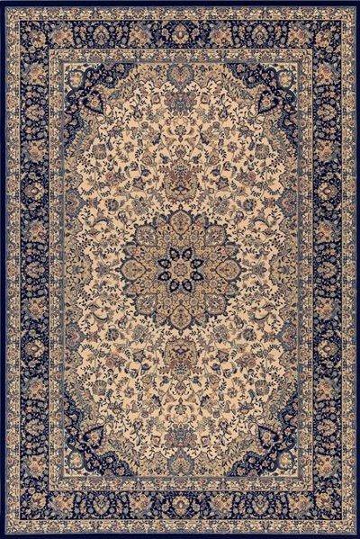 Modrý orientální kusový koberec Diamond - délka 160 cm a šířka 85 cm