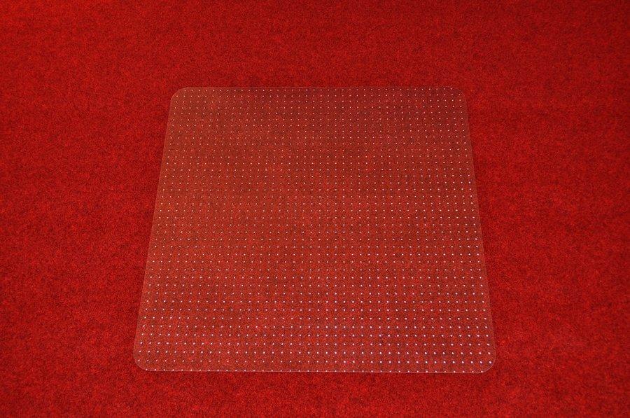 Čirá podložka na koberec pod židli - délka 120 cm, šířka 120 cm a výška 0,3 cm