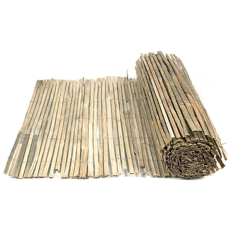 """Bambusová stínící rohož """"štípaný bambus nelakovaný"""" - délka 500 cm"""