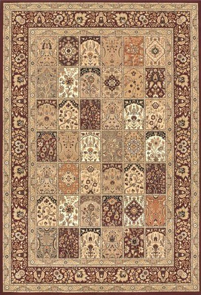 Béžový kusový moderní koberec Nobility