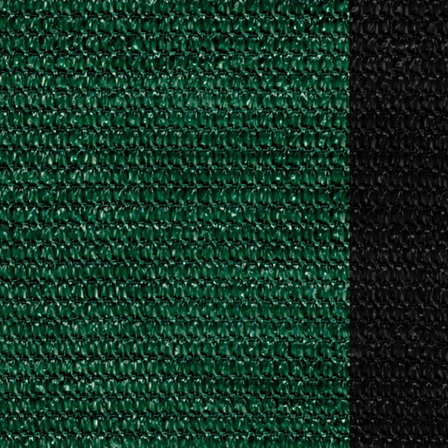 Zelená stínící tkanina na plot Samoa - délka 50 m a výška 1 m