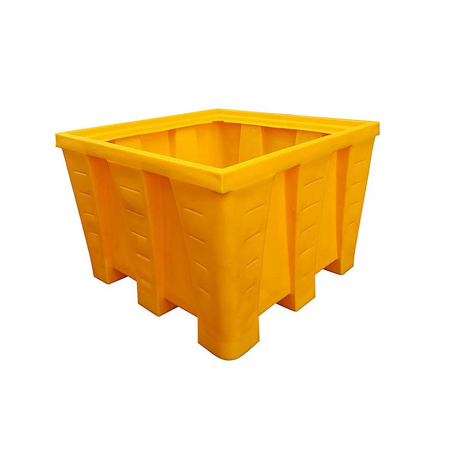 Plastová záchytná jímka s roštem - délka 130 cm, šířka 130 cm a výška 90 cm