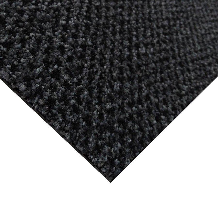 Šedá kobercová vnitřní čistící zóna Alanis, FLOMA - výška 0,75 cm