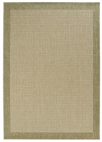 Zelený bytový kusový obdélníkový koberec Natural