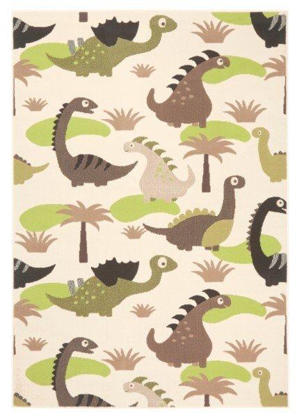 Zelený dětský kusový koberec - délka 200 cm a šířka 140 cm