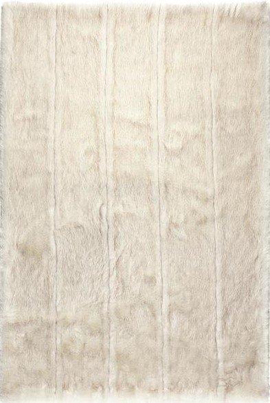 Bílý luxusní kusový koberec Feel - délka 300 cm a šířka 192 cm
