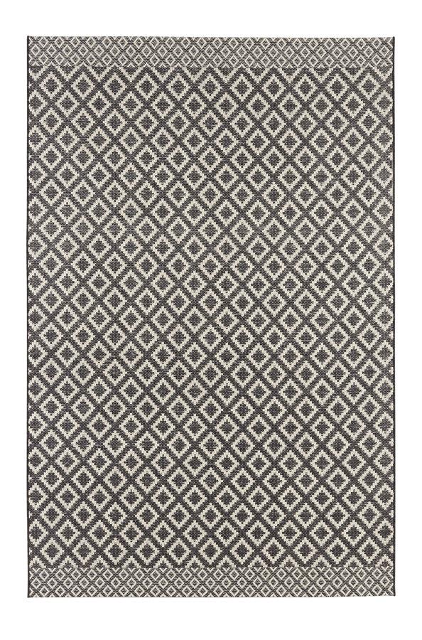 Hnědý kusový koberec Harmony