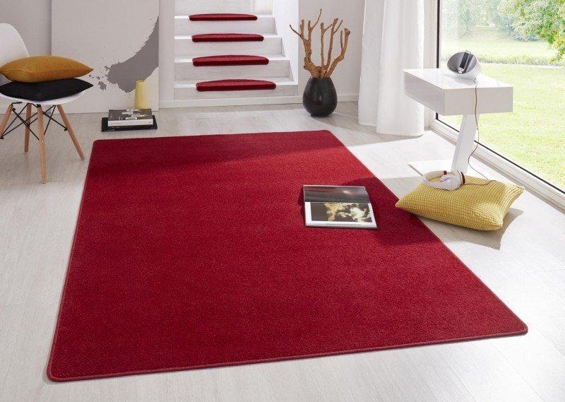 Červený kusový koberec Fancy