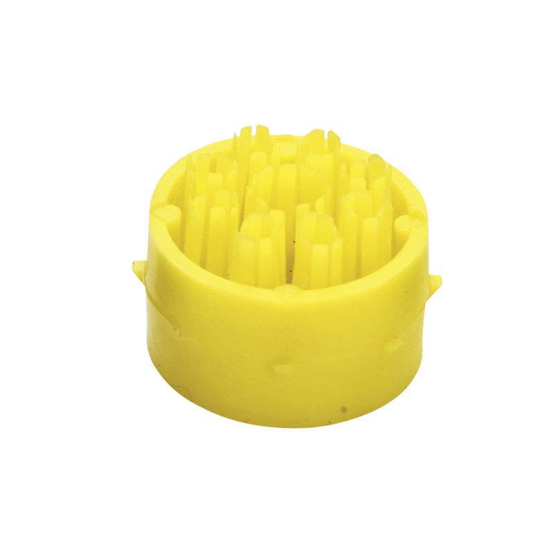 Žlutý plastový čistící kartáček pro rohože Octomat, Octomat Elite