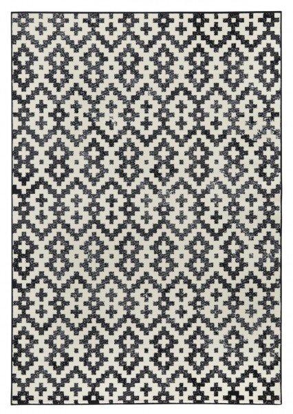Černý moderní kusový koberec Capri - délka 290 cm a šířka 200 cm