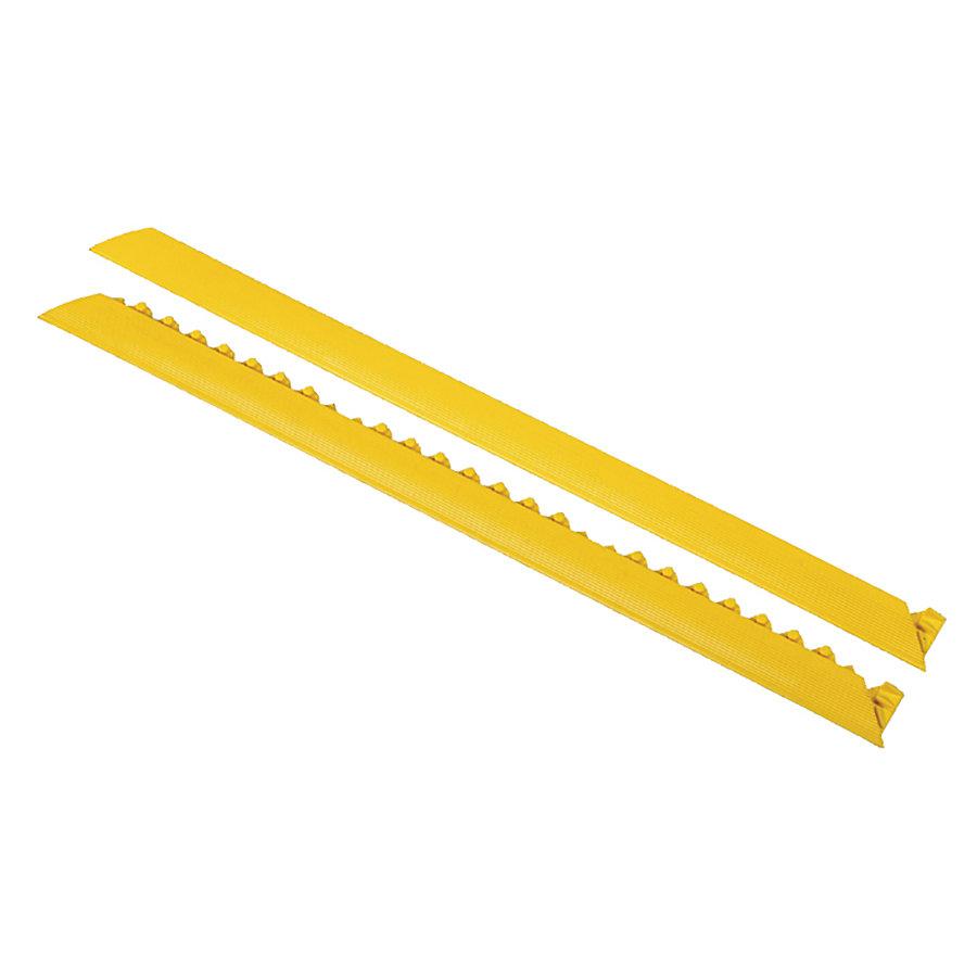 """Žlutá náběhová hrana """"samec"""" MD Ramp System, Nitrile - délka 152 cm a šířka 5 cm"""