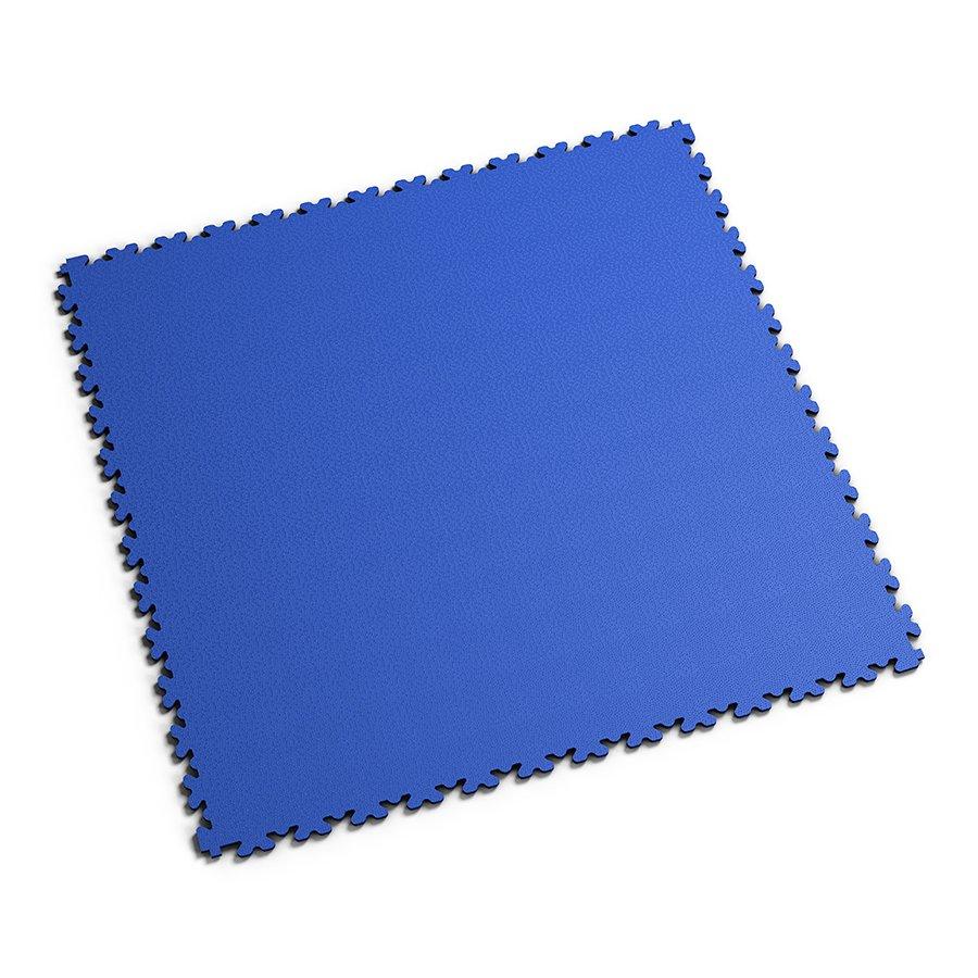 Modrá PVC vinylová zátěžová dlažba Fortelock XL - délka 65,3 cm, šířka 65,3 cm a výška 0,4 cm