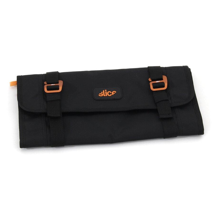 Černo-oranžové rolovací pouzdro na nářadí SLICE - délka 36,5 cm, šířka 18,3 cm a výška 0,5 cm