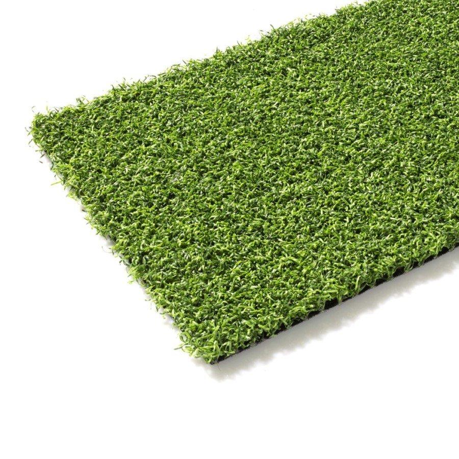Zelený umělý trávník (metráž) FLOMA Colourfull Grass Green - délka 1 cm a výška 1,4 cm