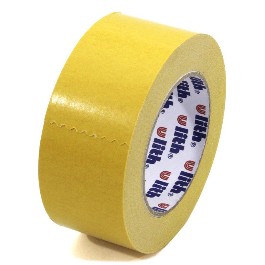 Textilní oboustranná lepící páska FLOMA Double-sided - délka 25 m a šířka 5 cm