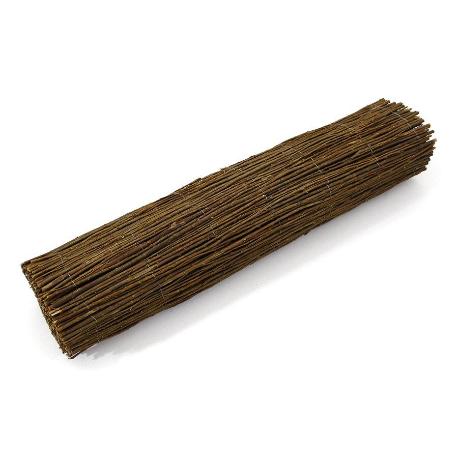 """Proutěná stínící rohož """"vrbové proutí"""" - délka 300 cm a výška 100 cm"""