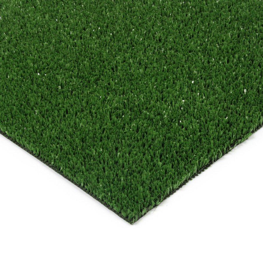 Zelená plastová venkovní vnitřní čistící zóna Grace, FLOMAT - výška 0,9 cm