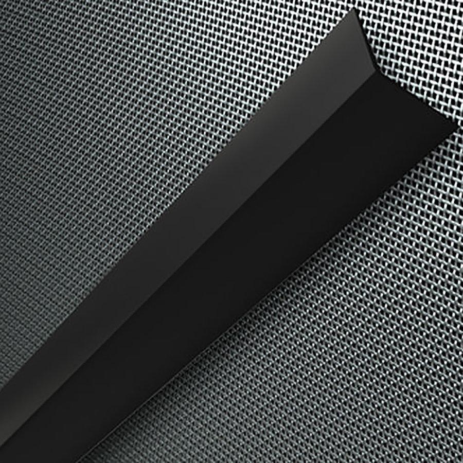 Pryžový roh na ochranu stěn FLOXO - šířka 7,5 cm a tloušťka 0,8 cm