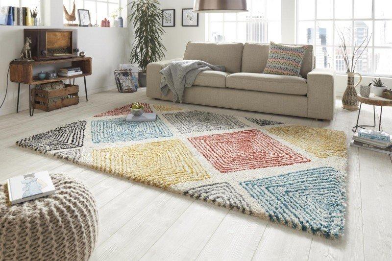 Různobarevný moderní kusový koberec Allure - délka 230 cm a šířka 160 cm