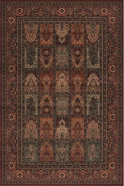 Vínový orientální kusový koberec Kashqai - délka 300 cm a šířka 200 cm