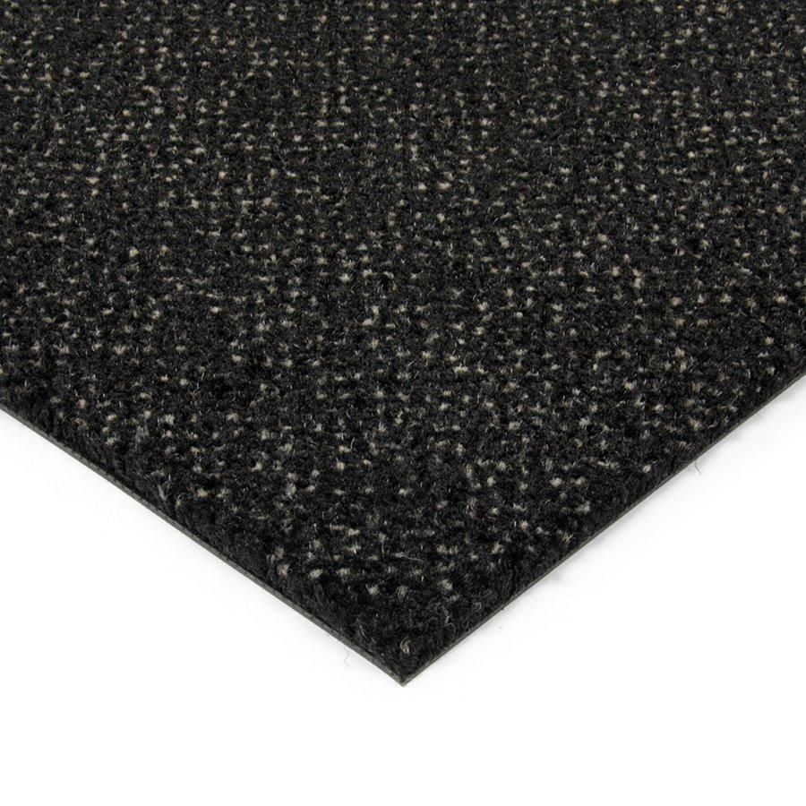 Černá kobercová vnitřní čistící zóna Cleopatra Extra, FLOMAT (Bfl-S1) - výška 1 cm