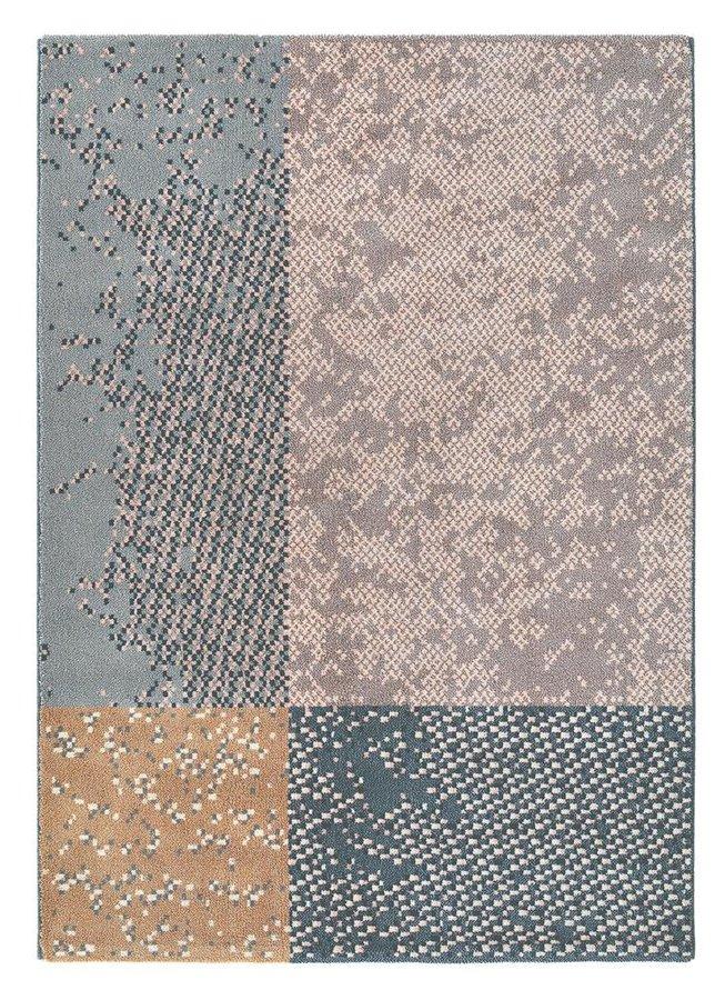 Šedý kusový luxusní moderní koberec Prado