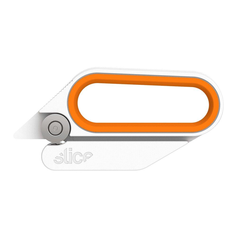 Keramické rotační nůžky - délka 14 cm, šířka 1,6 cm a výška 6,9 cm