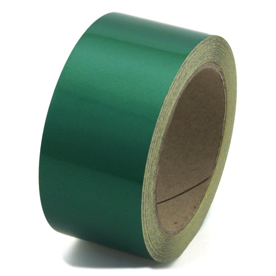 Zelená reflexní výstražná páska - délka 15 m a šířka 5 cm