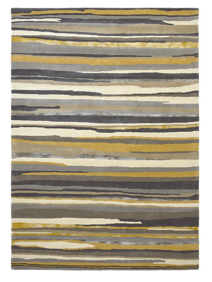 Hnědý kusový moderní koberec Elsdon
