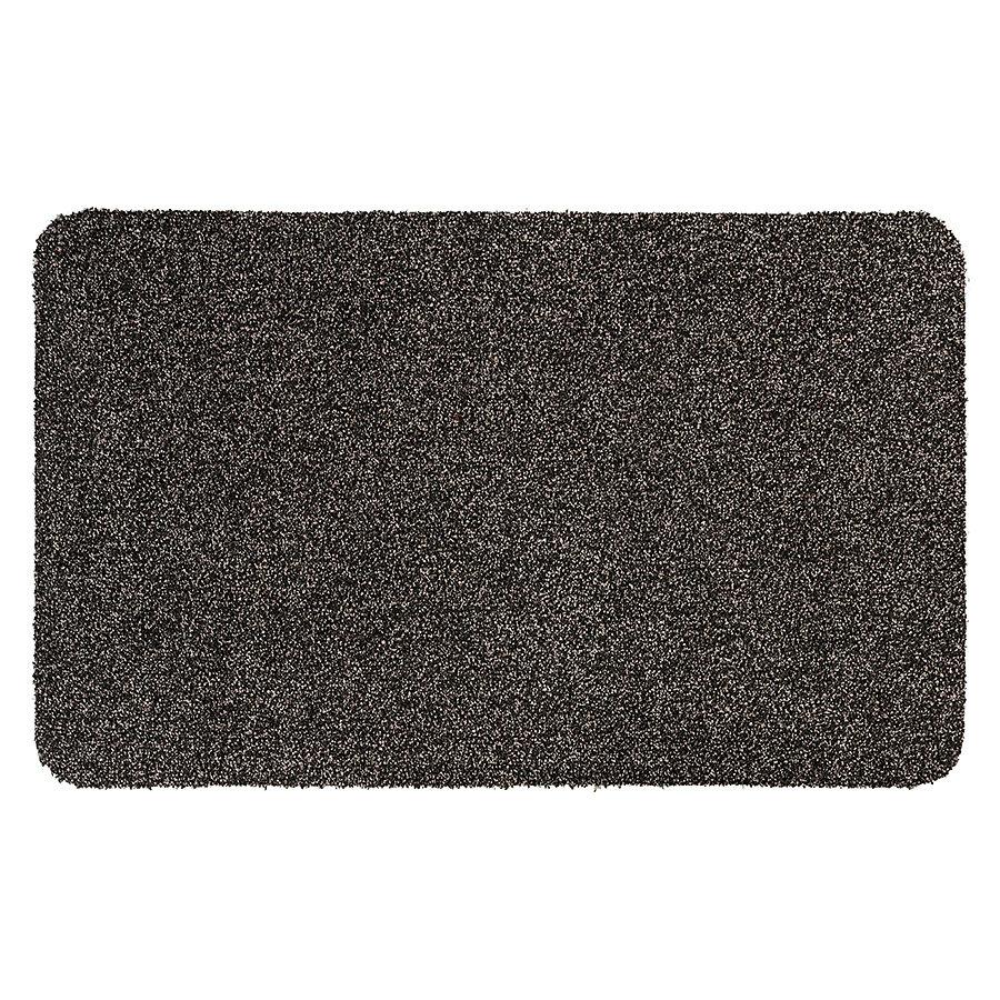 Hnědá metrážová čistící vnitřní vstupní pratelná rohož Majestic, FLOMA - délka 1 cm
