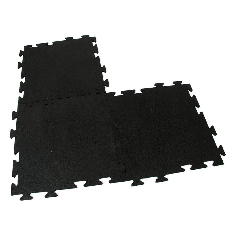 Gumová modulární protiúnavová rohož Flat Tile, FLOMA - délka 50 cm, šířka 50 cm a výška 0,8 cm