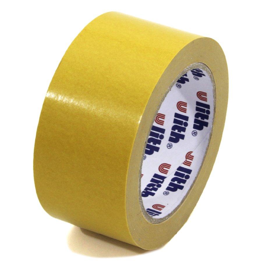Plastová oboustranná lepící páska FLOMA Double-sided - délka 25 m a šířka 5 cm