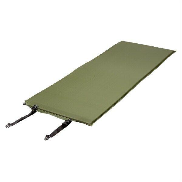 Zelená samonafukovací karimatka NILS CAMP NC4302 - délka 198 cm, šířka 63 cm a výška 2,5 cm