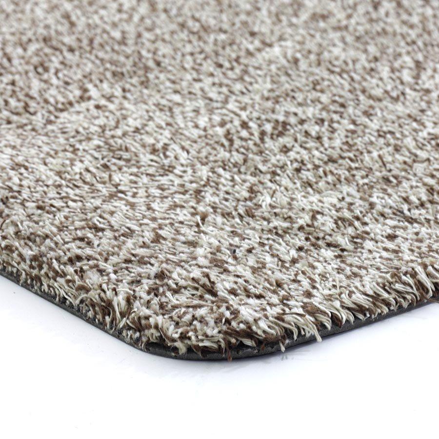 Béžová vnitřní vstupní čistící pratelná metrážová rohož Natuflex, FLOMA - délka 1 cm, šířka 200 cm a výška 0,6 cm