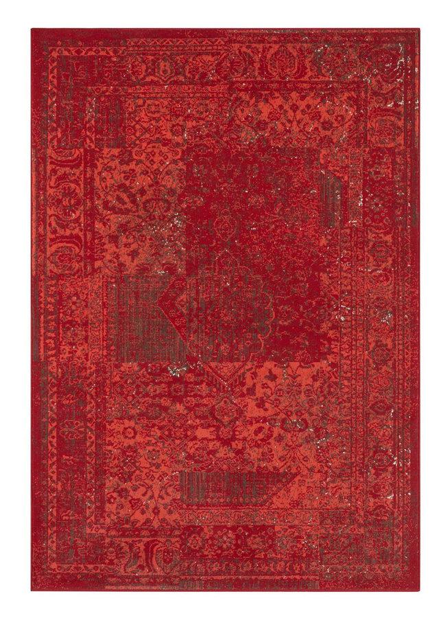 Červený kusový koberec Plume, Celebration - délka 170 cm a šířka 120 cm