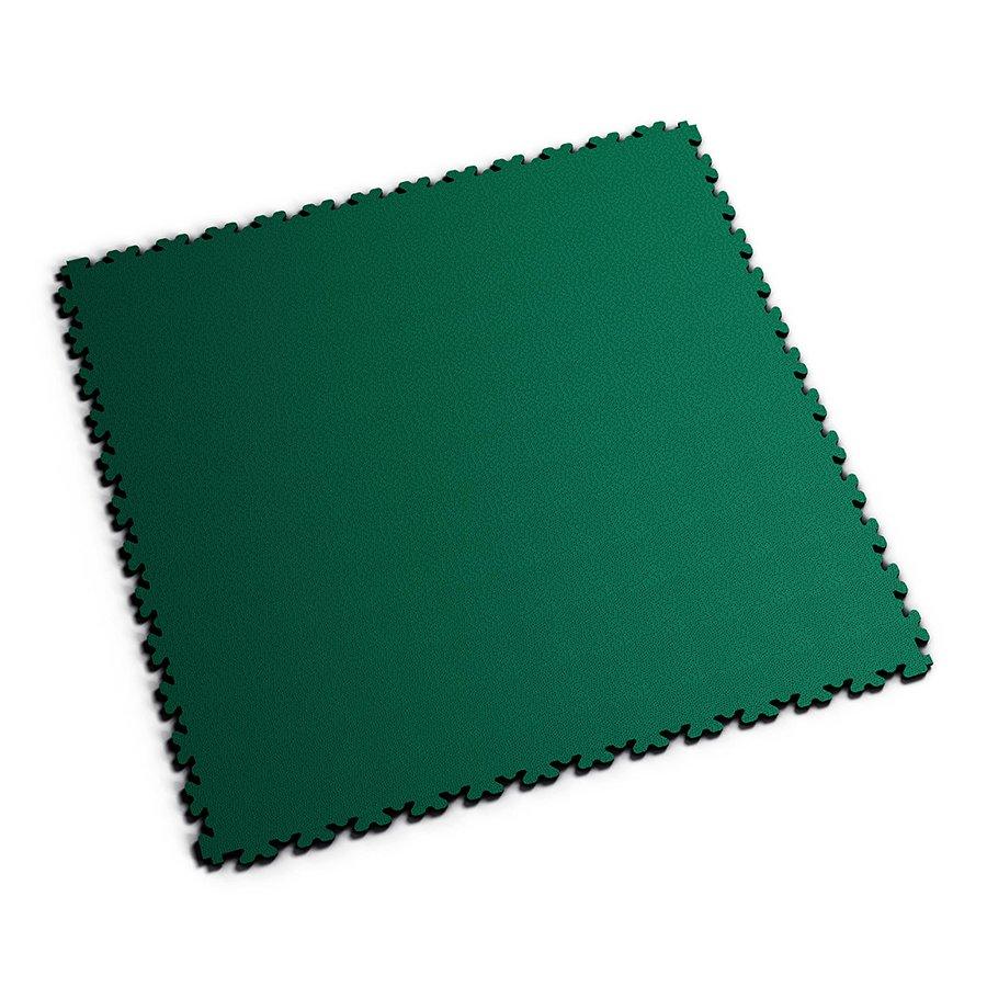 Zelená PVC vinylová zátěžová dlažba Fortelock XL - délka 65,3 cm, šířka 65,3 cm a výška 0,4 cm