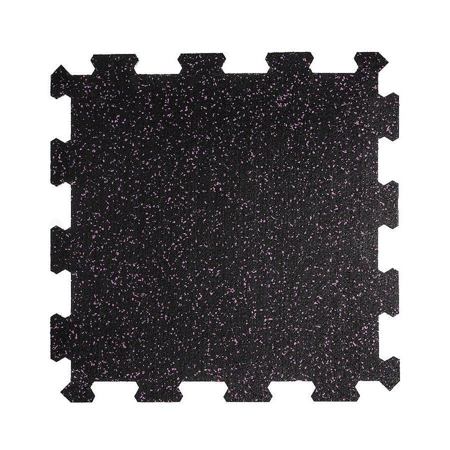 Různobarevná pryžová (10% EPDM STANDARD) modulární fitness deska (střed) SF1050 - délka 47,8 cm, šířka 47,8 cm a výška 1 cm