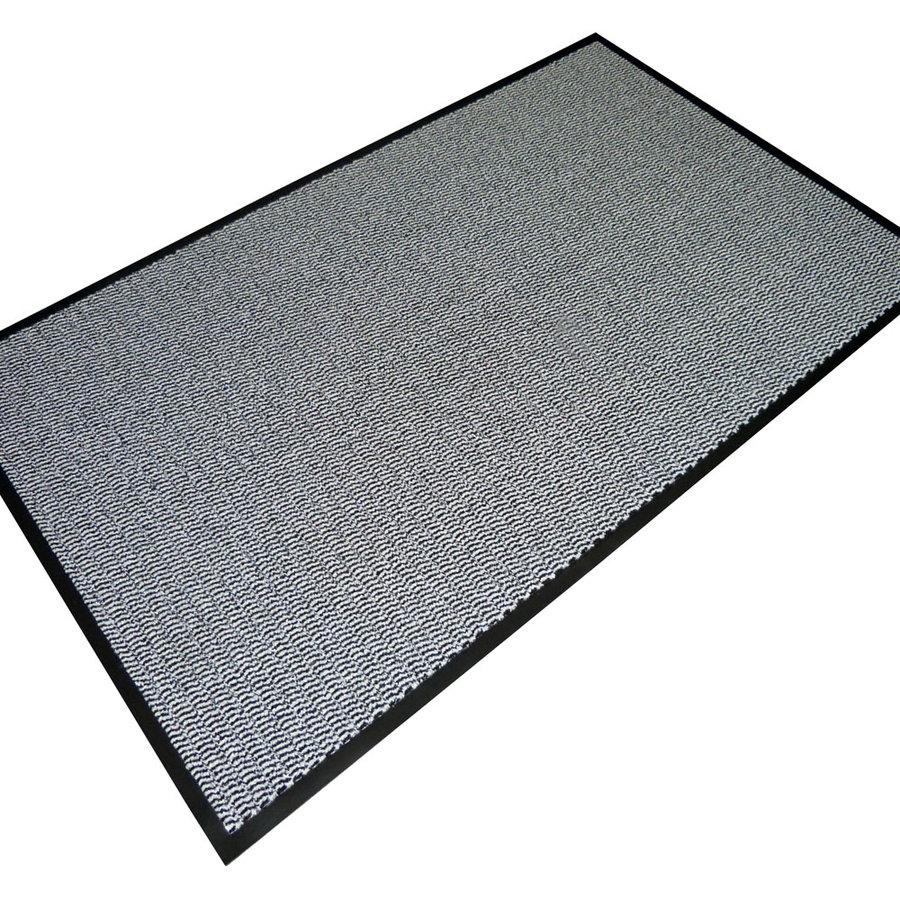 Šedá textilní vstupní vnitřní čistící rohož 01 - délka 120 cm, šířka 180 cm a výška 0,7 cm