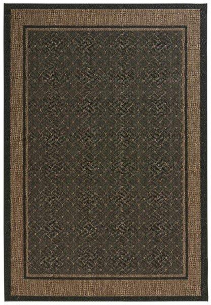 Hnědý kusový moderní koberec Natural