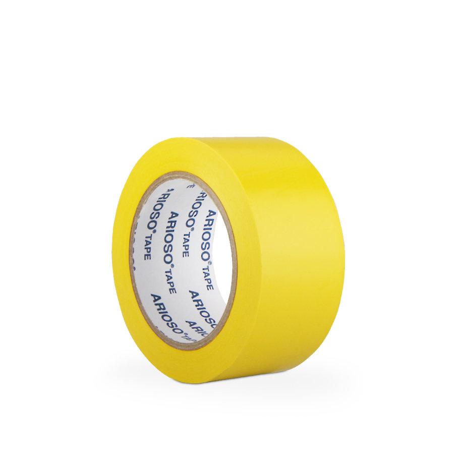 Žlutá vyznačovací podlahová páska 01 - délka 33 m a šířka 5 cm